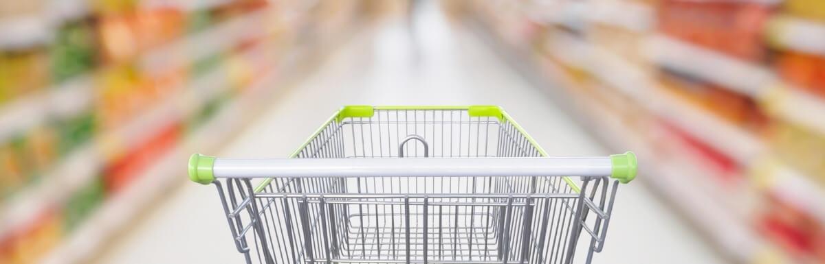 Panier commerce de détail